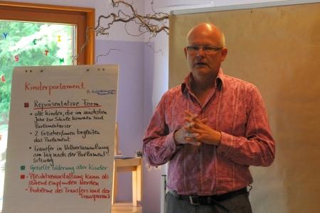 Am dritten Tag haben wir die Frage, welche Gremien und Verfahren brauchen / wollen wir in unserer Kita?