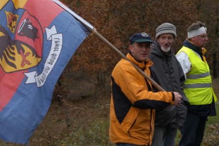 Bürgerinitiative gegen CO2-Endlager, Foto: Andreas Schönefeld