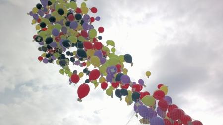 598 Luftballon mit Kinderwünschen, Foto: Andreas Schönefeld