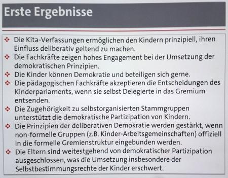 Erste Ergebnisse, Foto: Andreas Schönefeld