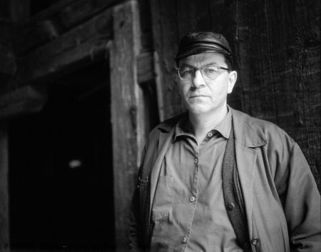 Peter Weiss 1982 in der Sowjetunion, Foto: unbekannt
