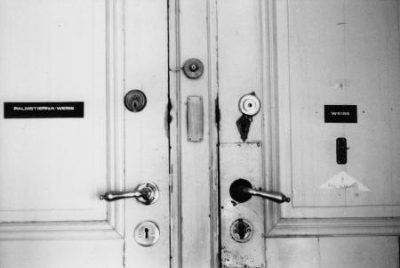 Tür an Tür, Gunillas und Peters Atelier in Stockholm, Foto: Andreas Schönefeld