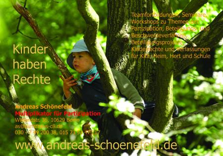 Werbepostkarte für meine Arbeit als Multiplikator für Partizipation, Foto Andreas Schönefeld