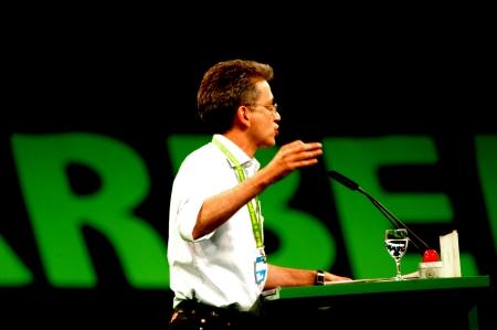 Grüner Parteitag Berlin 2009, Foto: Andreas Schönefeld