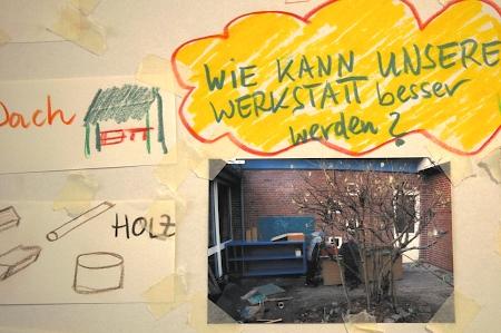 Sammlung der Ideen, Wünsche, Bedürfnisse, Foto: Andreas Schönefeld
