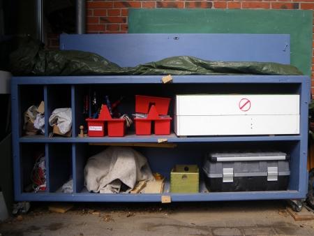 Der Werkzeugschrank wird gefüllt, Foto: Andreas Schönefeld