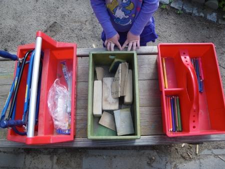Werkzeug für die Kinder, Foto: Andreas Schönefeld